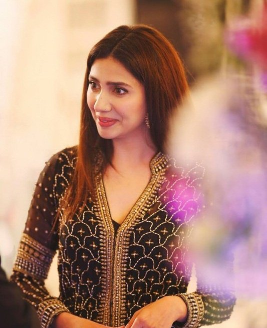 Pakistani Actress Mahira Khan.