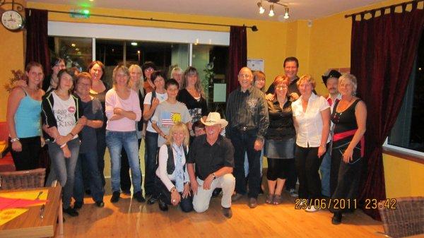 Super soirée organisé par le Club Crazydancers Chez Cathy & Didier Restaurant à L'Orée du Bois à Sarreguemines !