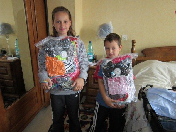 Nos bagages sont prêts !!