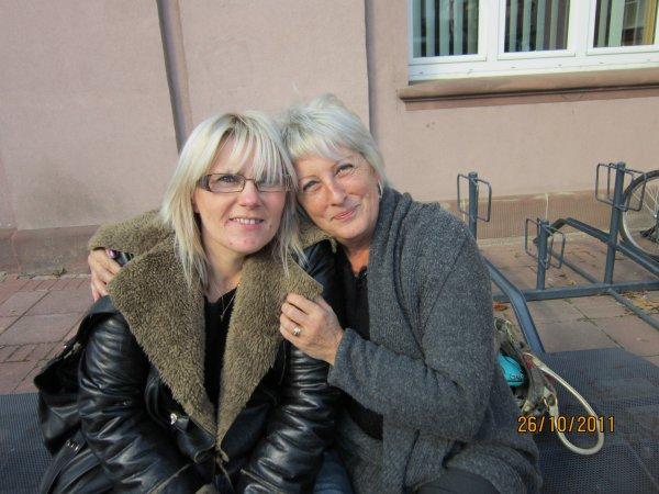 Muriel &Moi  :)