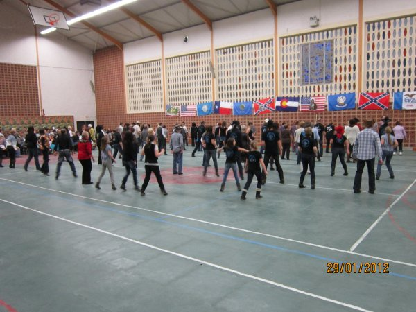 "Thé dansant "" TENNESSEE DANCERS """