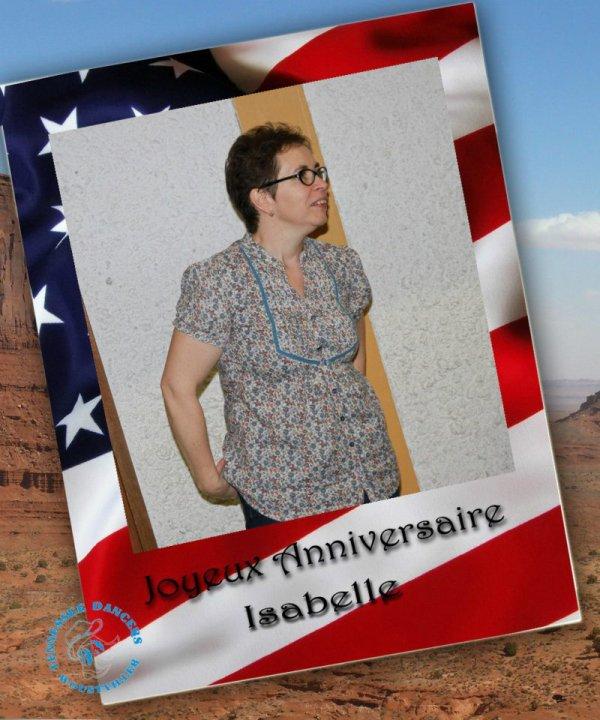 Anniversaire de Isabelle ( 50 ans )
