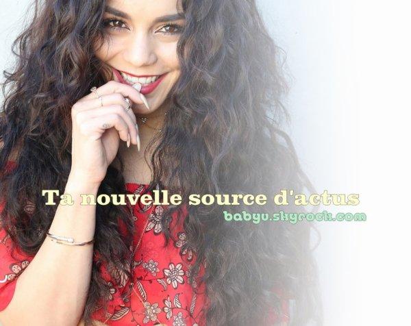..•• Découvre et deviens fan de Vanessa Anne Hudgens sur babyv.skyrock.com ••  ...