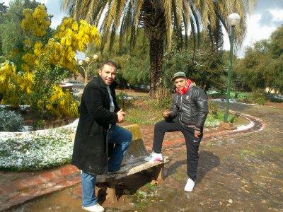 moi et l'adjel