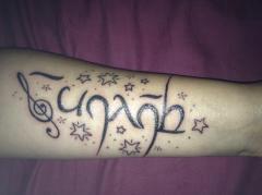<3 <3 Mon tatoo <3 <3