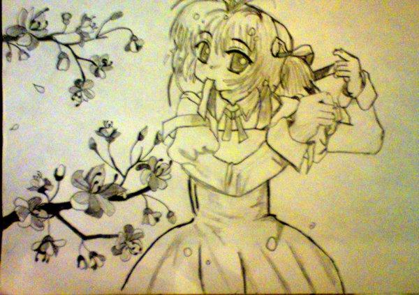Voilà un autre dessin : Sakura
