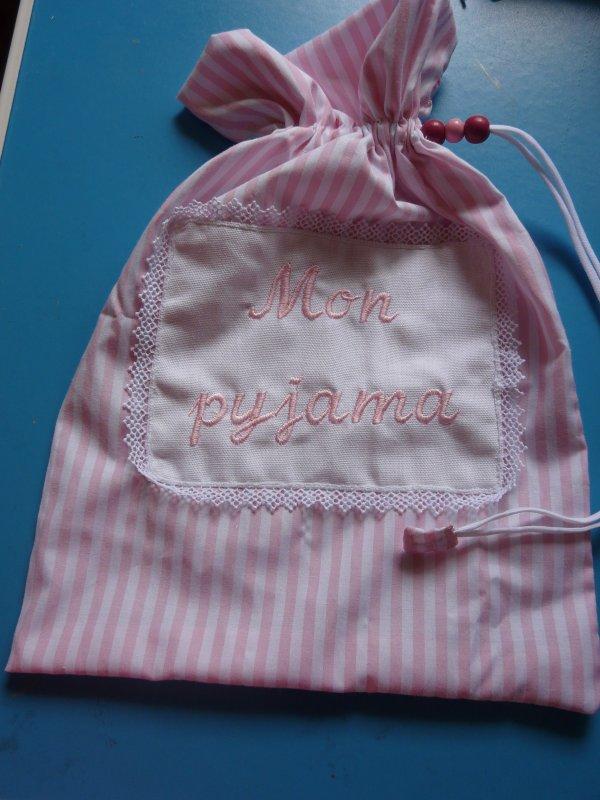 sac pour pyjama petite fille