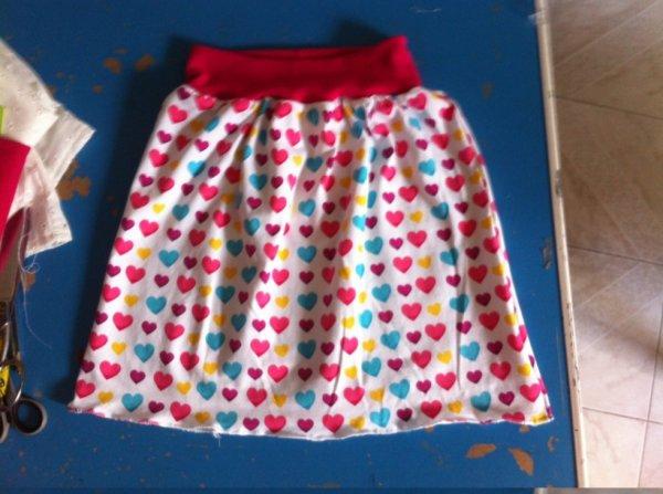 jupe pour une de mes petites filles