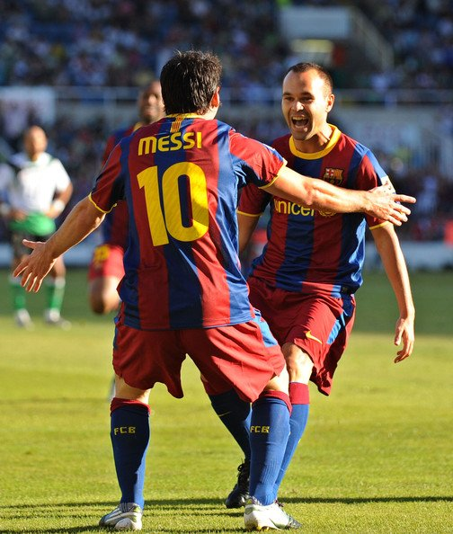Messi&Iniesta