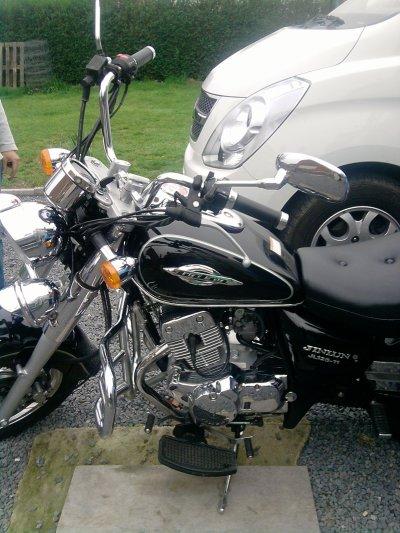 la moto de mon beau pere