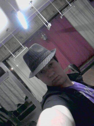 moi avec le chapeau acheter a londres