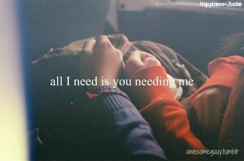 I hurt. You're hurting me.