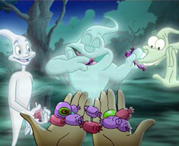 Dessin animé fantome