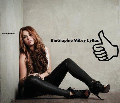 Biographie de Miley