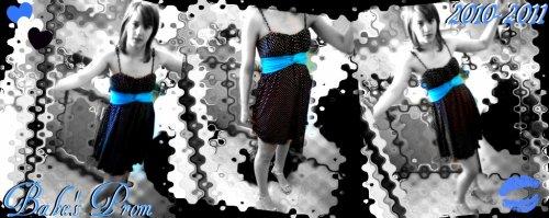 Ma robe de prom pour la graduation a BB