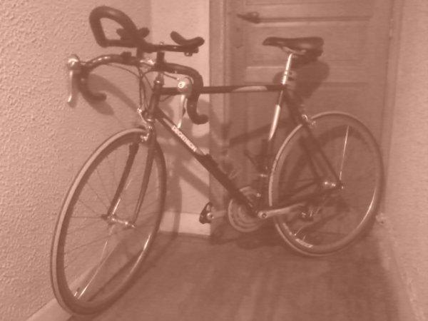 voiçi l'objet de mon autre passion(le cyclisme) après la carpe bien sur
