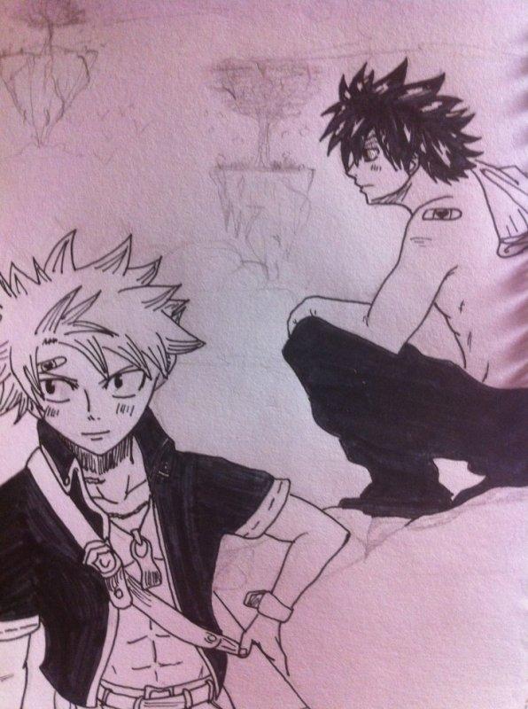 Natsu & Grey :3