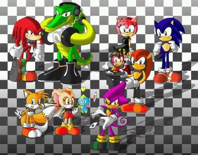 Ma première rencontré avec Sonic et tous ses amis partit 2;