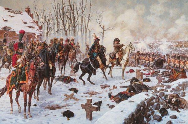 Quatrième Coalition : Campagne de Pologne : La bataille d'Eylau (8 février 1807)