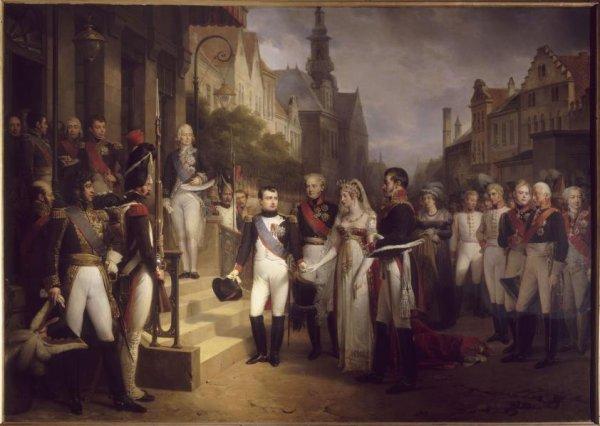 Rencontre de Napoléon Ier et du tsar Alexandre Ier à Tilsit (25 juin 1807)