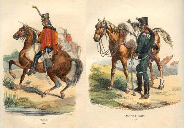 L'Armée de Napoléon : partie 2 : la Cavalerie