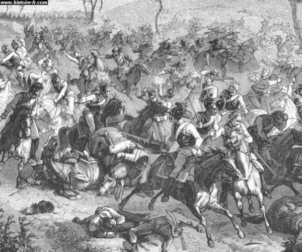 Cinquième Coalition : Campagne de Bavière : la victoire d'Eckmühl (22 avril 1809)