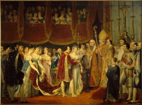 Napoléon et la nouvelle Impératrice : Marie-Louise