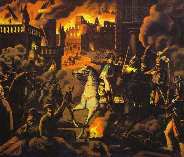 Campagne de Russie : L'occupation de Moscou (14 septembre au 18 octobre 1812)