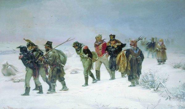 Campagne de Russie : La retraite de Russie (18 octobre 1812 au 14 décembre 1812)