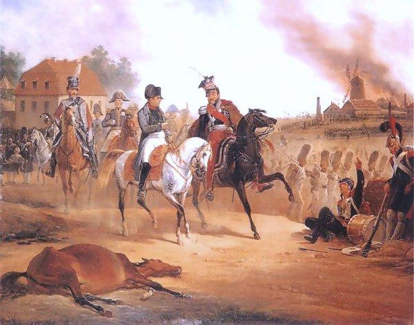 Sixième Coalition : Campagne de Saxe : La bataille de Leipzig (16-19 octobre 1813)