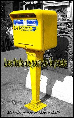 <<Les frait de port >>