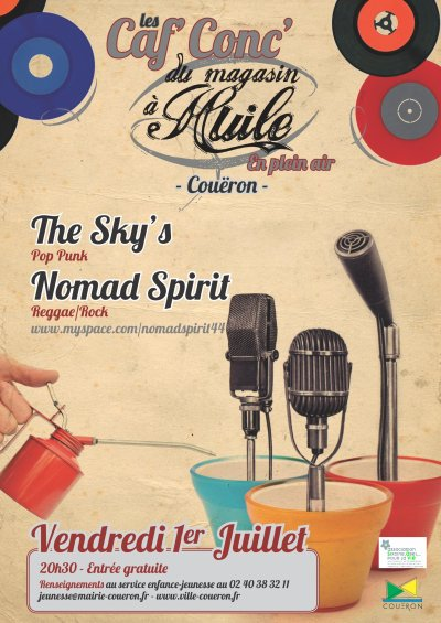 Un concert gratuit près de Nantes + des bisous ^^