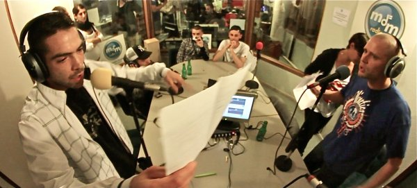 Freestyle live radio MDM - White Mc et S.E.K (2013)