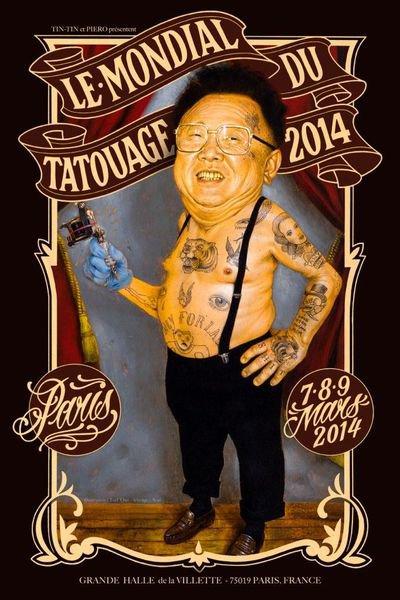 Le Mondial du tatouage.