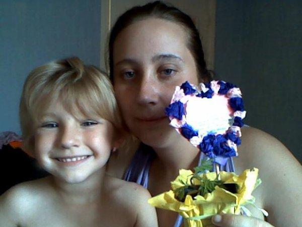mon cadeaux de fête des maman merci ma pepete je t'aime