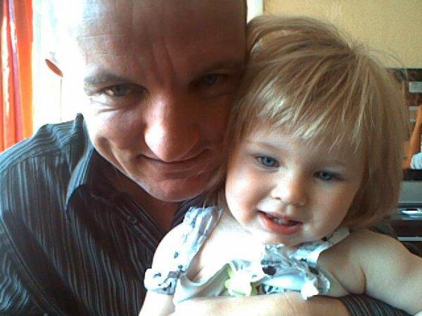 mon homme et notre bébé