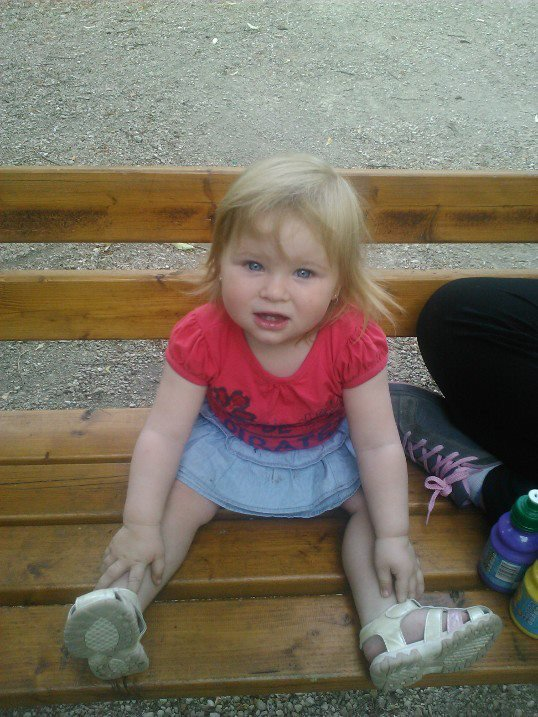 ma princesse au parc