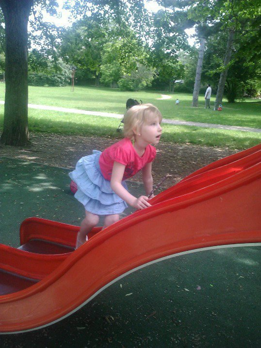 ma 1 er princesse  au parc