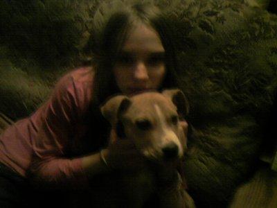 le chien de ma petite soeur et moi