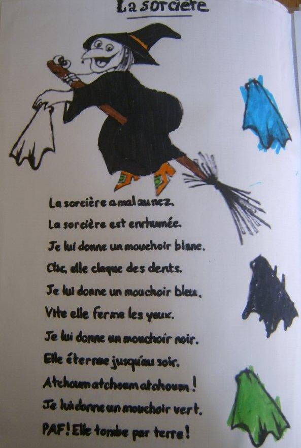 La sorcière et son monde à faire peur !