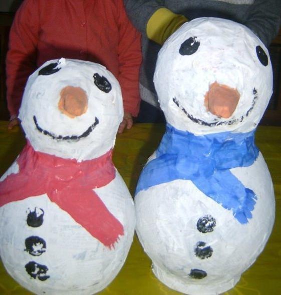 Le bonhomme de neige dans tous ses états !