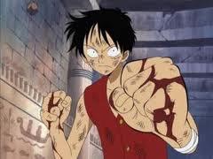 chapitre 9: Un combat sans merci, Luffy gravement blessé! (schoolfic)