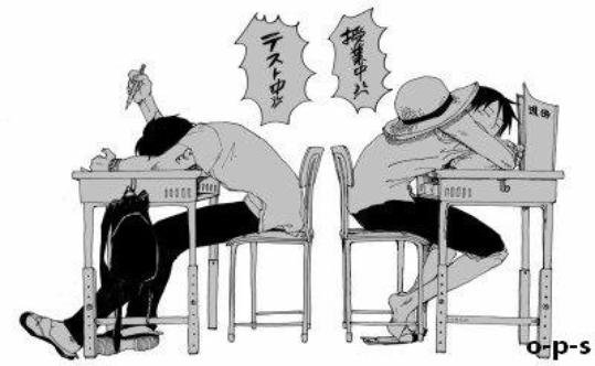 Schoolfic One Piece.