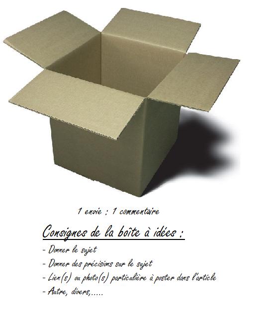 Boîtes à idées