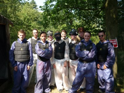 Paintball wallers
