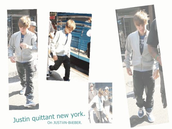 JayB quittant New York . ;)