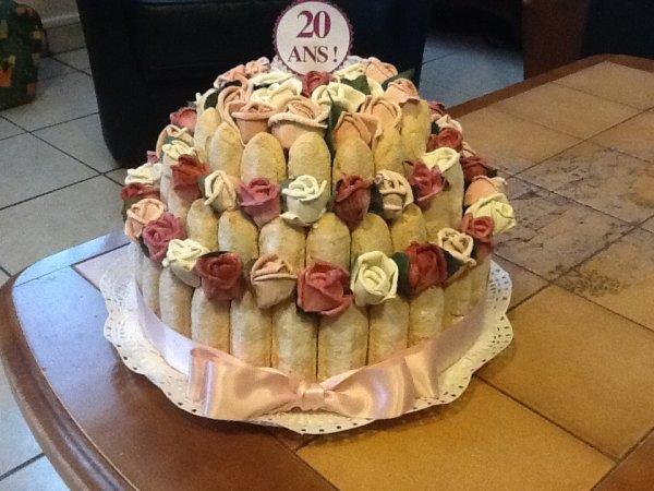 Gâteau fait pour le 20 eme salon des créateurs