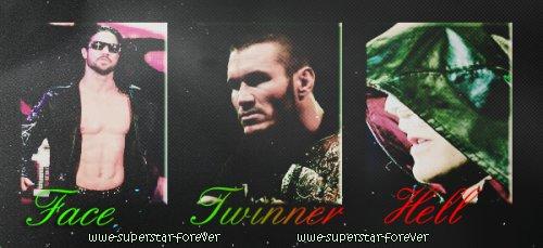 ".ılılı. "" FACE OU TWINNER OU HELL  0N WWE-SUPERSTAR-F0REVER "" .ılılı."