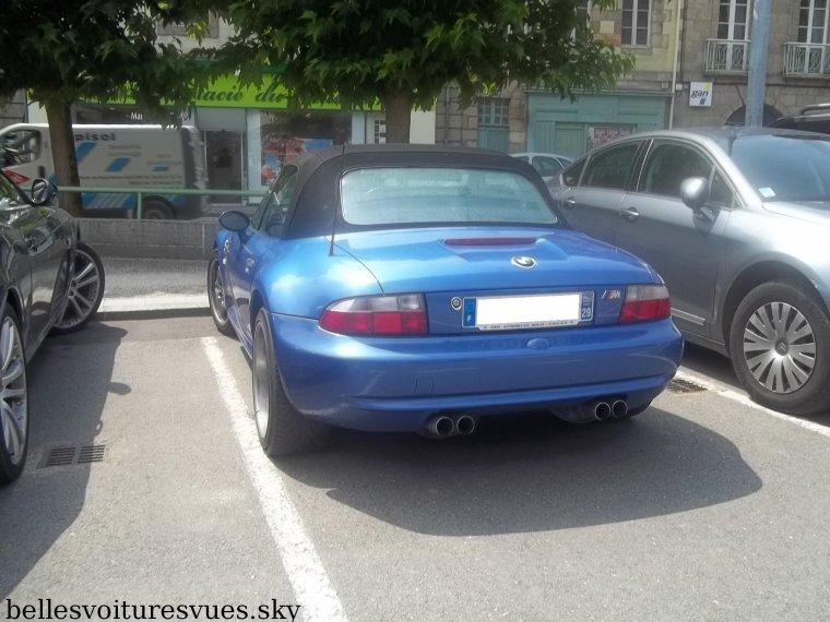 Jaguar XK 4.2 vs BMW Z3 M(Morlaix)(28/07/11)