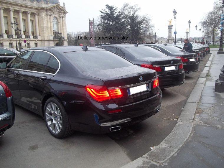 BMW Série 7 x9 dont 7 740i et 2 760Li(Grand Palais Paris)(17/03/12)